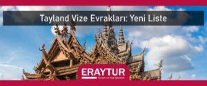 Tayland vize evrakları