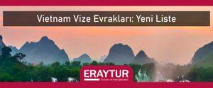 Vietnam vize evrakları