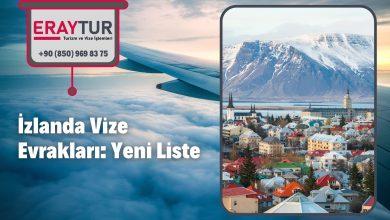 İzlanda Vize Evrakları: Yeni Liste [2021]