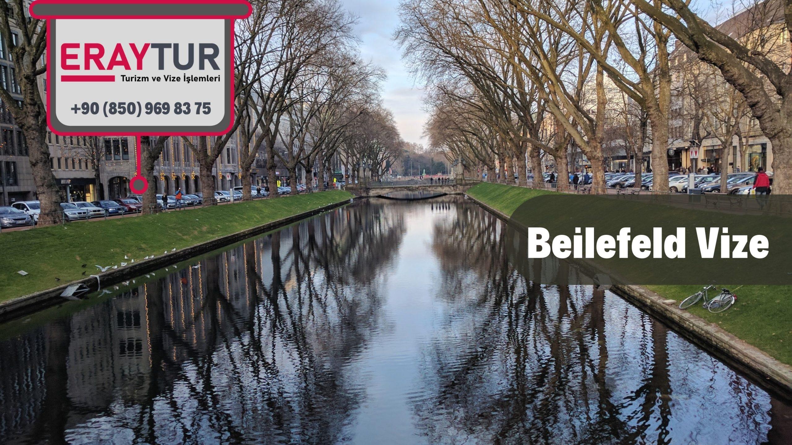 Almanya Beilefeld Vize Başvurusu