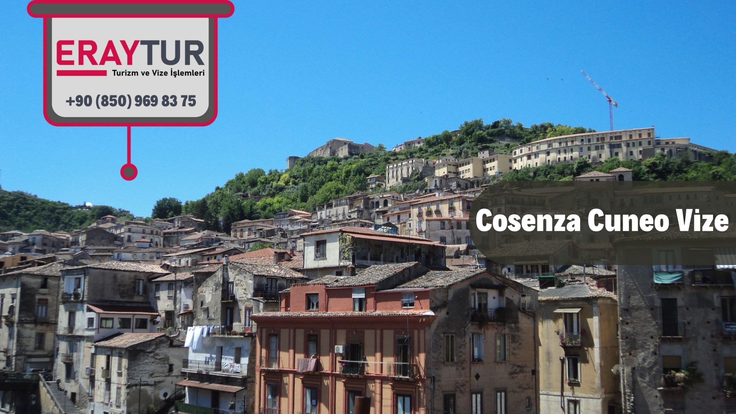 İtalya Cosenza Cuneo Vize Başvurusu