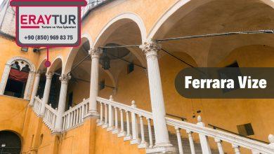 İtalya Ferrara Vize Başvurusu