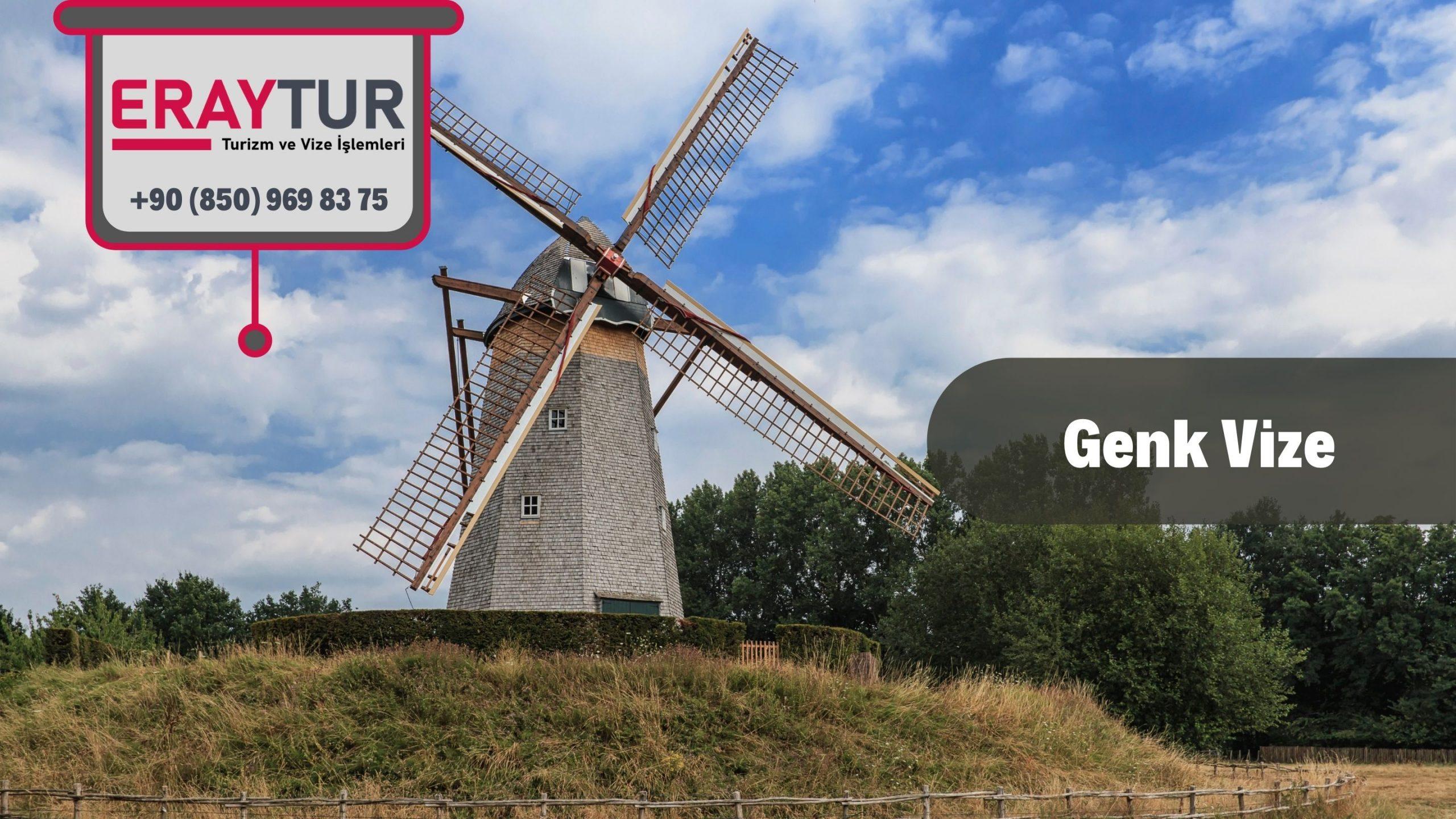 Belçika Genk Vize Başvurusu