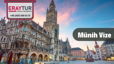 Almanya Münih Vize Başvurusu