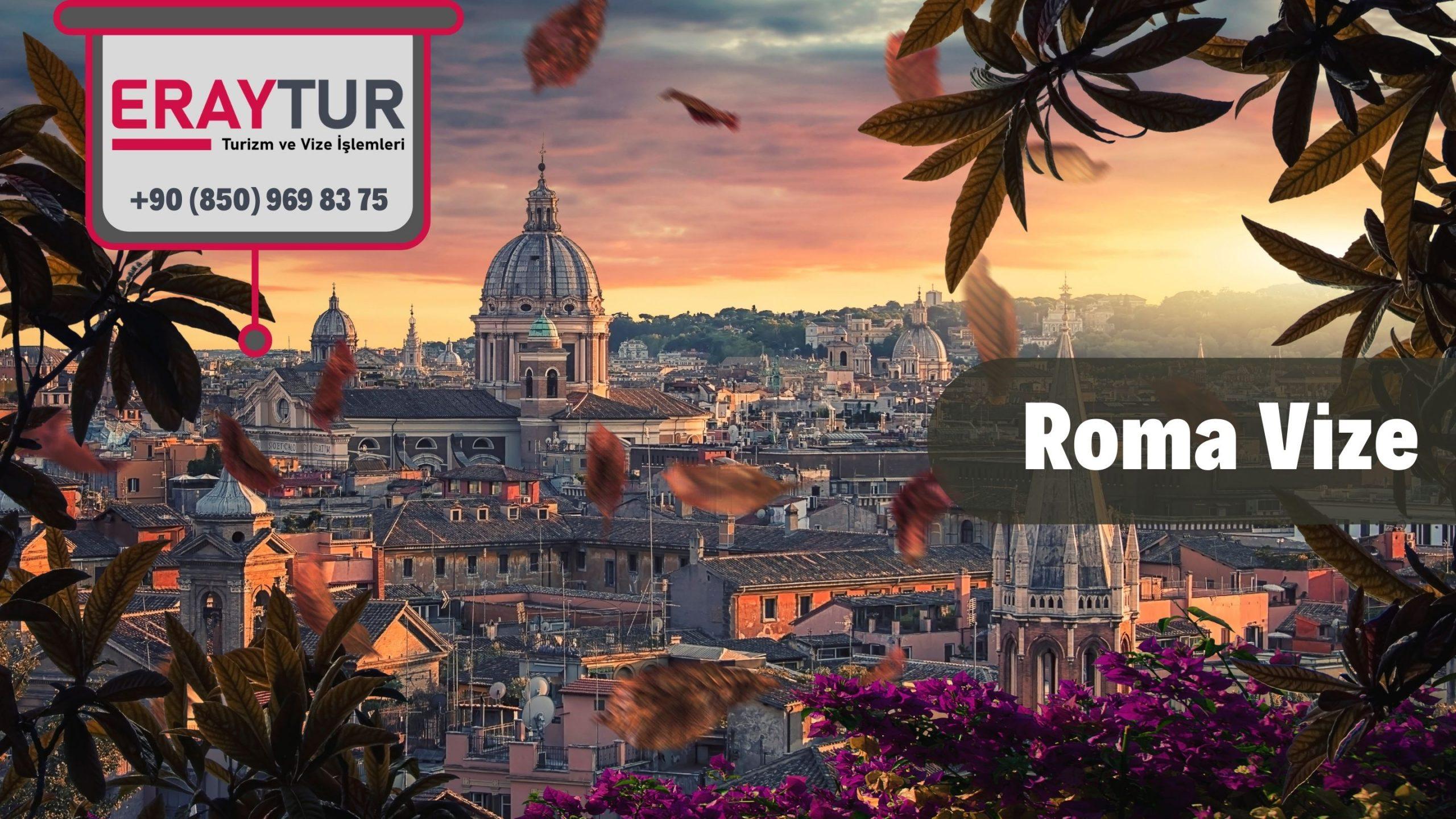 İtalya Roma Vize Başvurusu